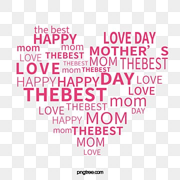 mothers day, Mother's Day, Heart, Heart PNG and Vector