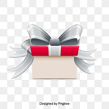 Festive gift bow ribbons bow festival png and vector for free valentines day gift box vector material negle