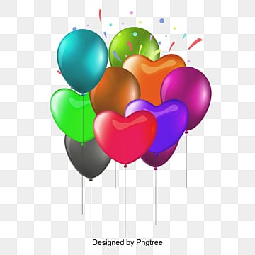 birthday balloons, Balloon, Balloon Pictures, Birthdaybirthday Vector PNG and PSD