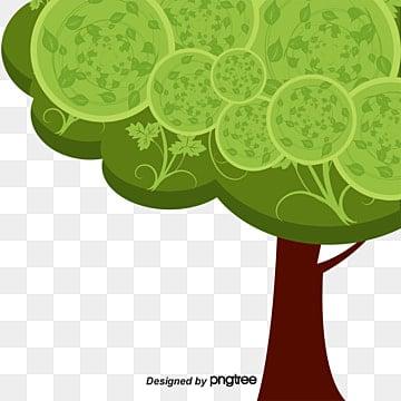 Decoração de Primavera fresca, A Primavera, Na Primavera, As árvoresPNG e Vector