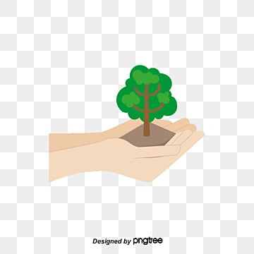 Arbor Day Creative, Hand, Soil, Grass PNG and PSD
