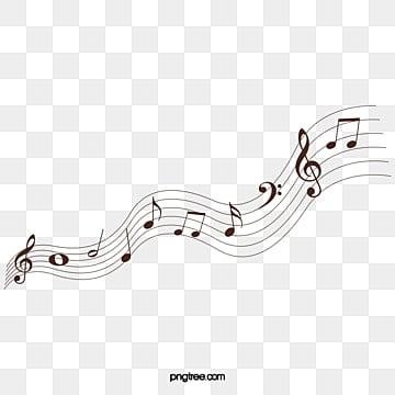 Símbolos de música, Preto, A Linha, A MúsicaPNG e Vector