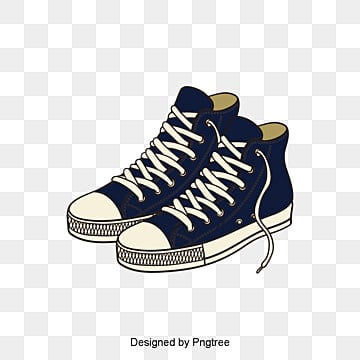 Cartoon gray canvas shoe design vector material, Cloth Shoes, Canvas Shoes,  High Heel