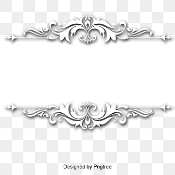 continental exquisite three dimensional pattern white border, Continental, Fine, Three-dimensional PNG and PSD