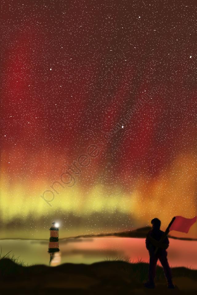 Sky Langit Malam Langit Bintang Langit, Berwarna Warni, Indah, 澎湃 llustration image