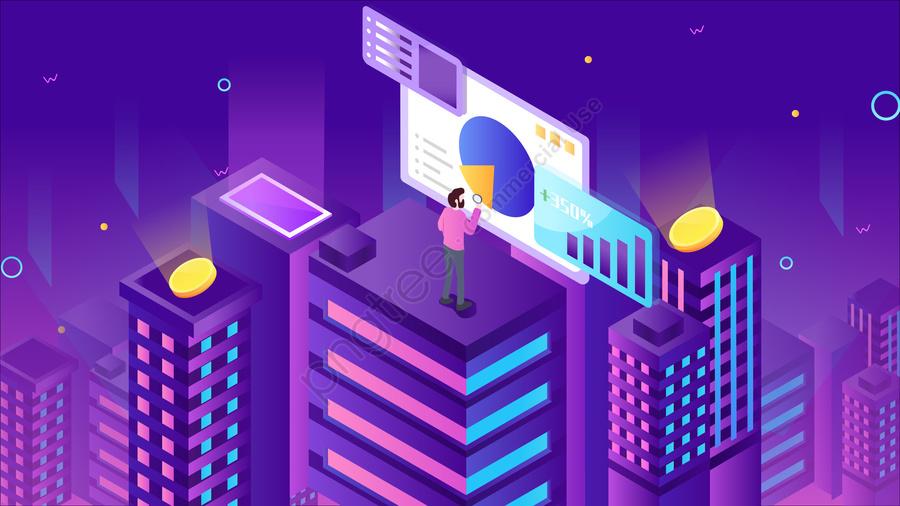 2 5 डी व्यापार डेटा वित्तीय, ढाल, वित्तीय, चित्रण llustration image