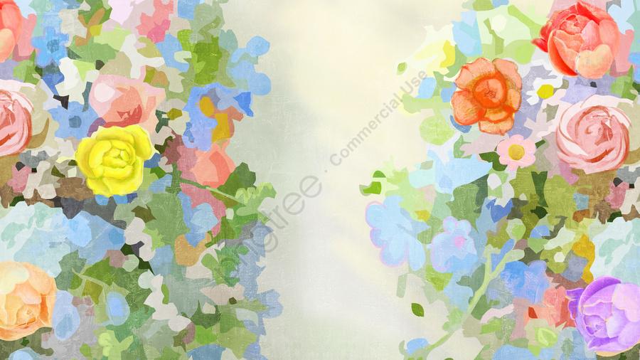 美しいイラスト花花, エレガント, 新鮮, グリーン llustration image