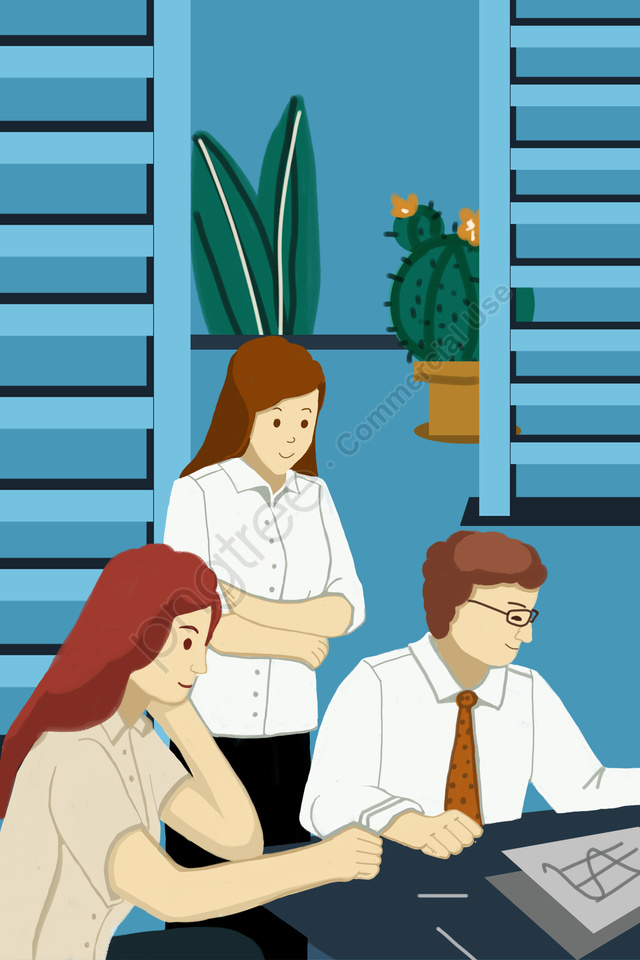 व्यापार वित्तीय कार्यालय कार्यस्थल, सफेद कॉलर, कार्यालय, काम करने के लिए जाना llustration image