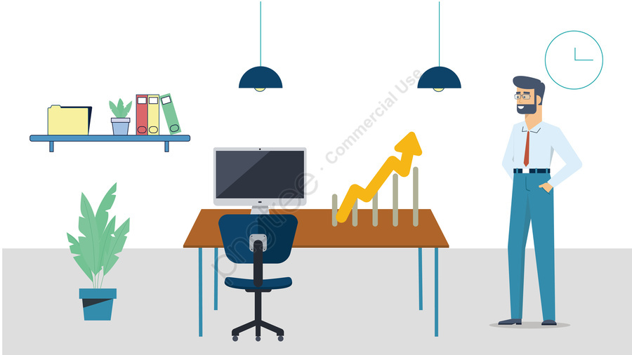 Business Jobs Arrow Promotion, Business, People, Jobs llustration image