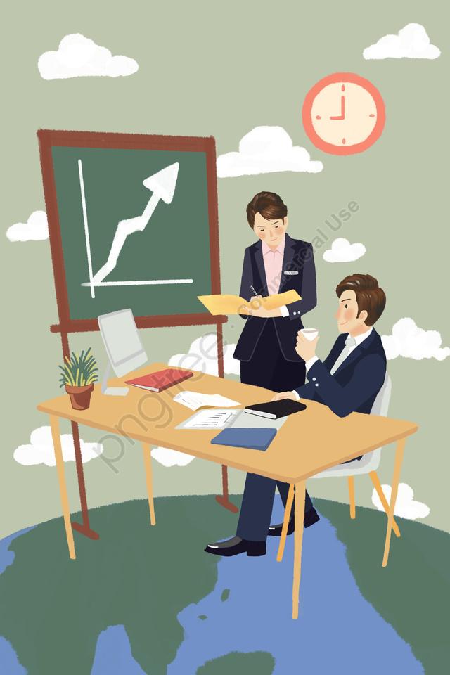 Integridade Da Equipe De Cooperação De Negócios Do Escritório De Negócios, Empregos, Ir Para O Trabalho, Colarinho Branco llustration image
