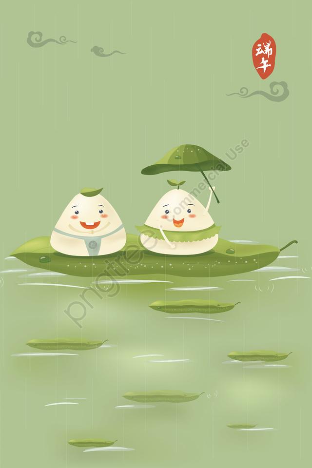 サイコロ愛情ドラゴンボート祭りイラストサソリ画像の漫画qバージョン, 五月五旬, 宗継, 文化民俗学 llustration image