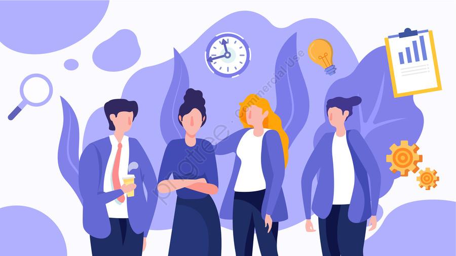 कार्टून कार्य कुशलता कार्यालय कार्यकर्ता व्यापार कार्यालय, चित्रण, कार्यालय, चर्चा llustration image