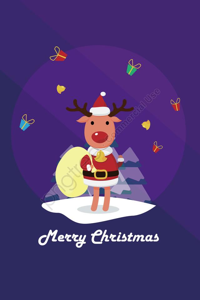 Giáng Sinh Giáng Sinh, Gỗ, Giáng Sinh., Nai Sừng Tấm llustration image