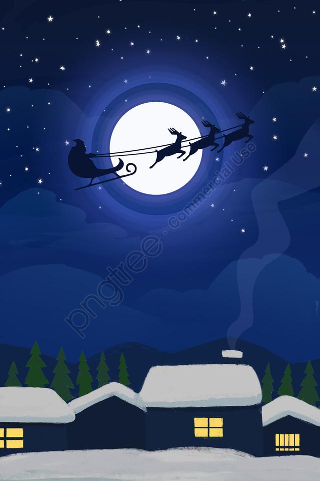 عيد الميلاد عيد الميلاد سانتا كلوز المهرجان, مهرجان, هدية, الرنة llustration image