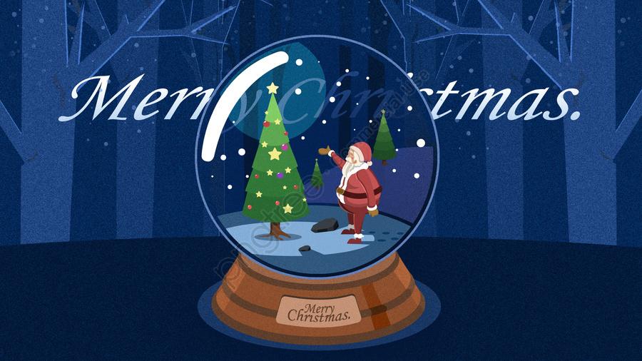 عيد الميلاد عيد الميلاد سانتا كلوز هدية, شجرة عيد الميلاد, سانتا, كلوز llustration image