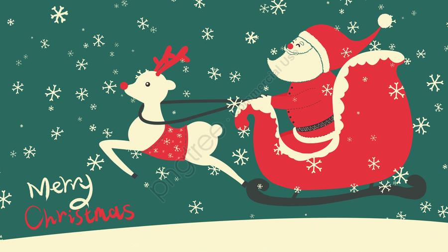 عيد الميلاد سانتا كلوز عيد الميلاد الأيائل, المثال التوضيحي, بطاقات المعايدة, عيد الميلاد llustration image