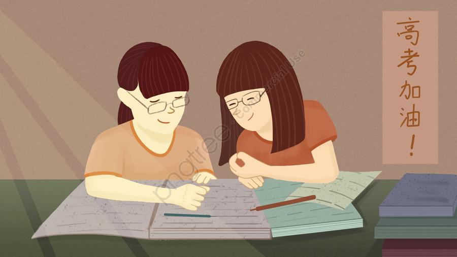 Kỳ Thi Tuyển Sinh đại Học đơn Giản Vẽ Tay Minh Họa Tuyển Sinh đại Học, Sách, Bút, Soạn Nhạc llustration image