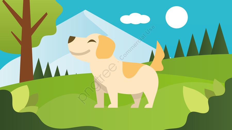 Собака парк животных прекрасный, щенок, парк, собака llustration image