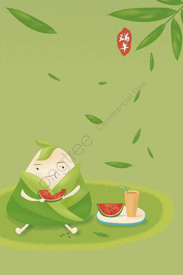 吃榛子西瓜動畫片q版本彀子龍舟節日例證的龍舟節日, 蠍子影像, 第五五月, 粽子 llustration image