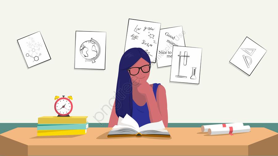 Preparação Para O Exame Aprende A Educação, Ilustração, Exame, Preparação llustration image