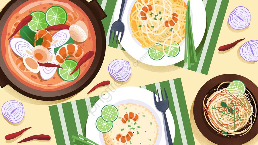 food food cuisine illustration, Comfort Food, Cuisine, Meal llustration image