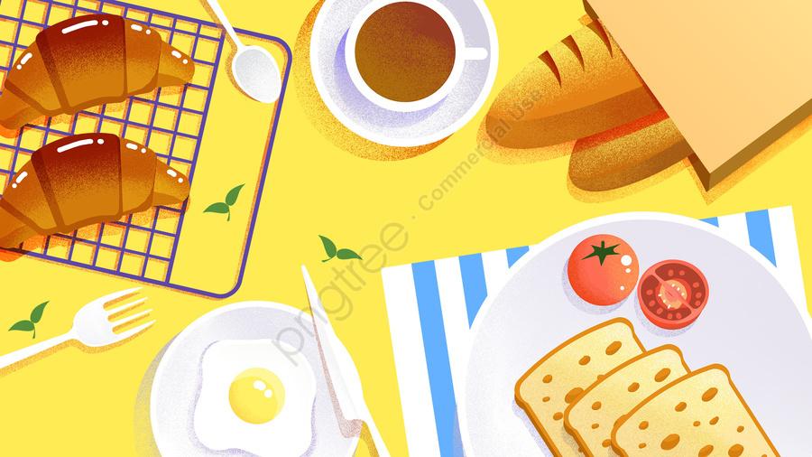 food illustration hand painted food, Western Style, Dessert, Cake llustration image