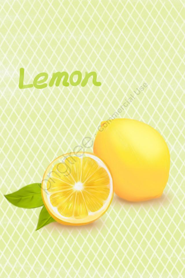 水果檸檬黃綠葉, 插圖, 水果, 檸檬 llustration image