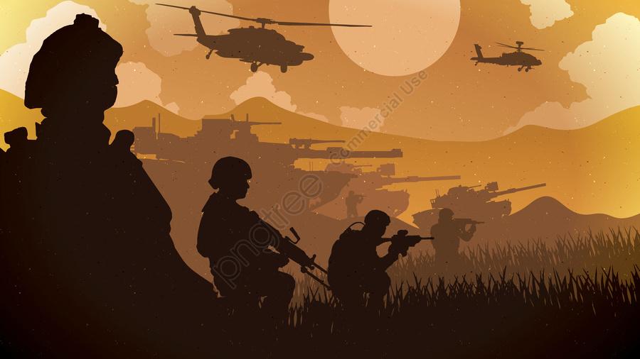 ゲーム戦場戦争の勝利, ゲーム, 焚火, 戦場 llustration image