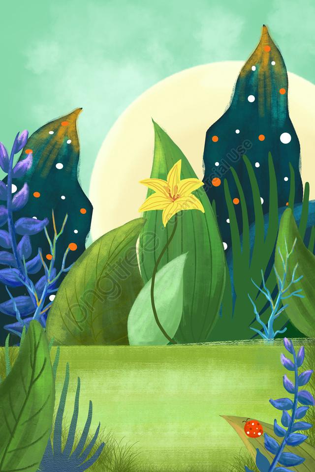 हरी खेत की घास, पौधे की पृष्ठभूमि, कार्टून संयंत्र, जंगल की पृष्ठभूमि llustration image