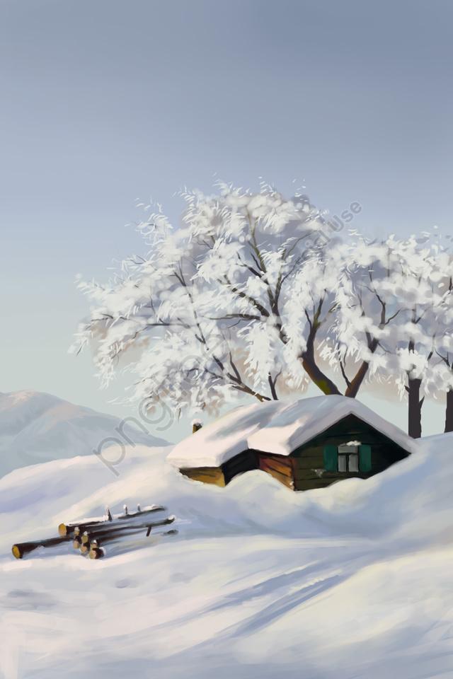 大雪雪太陽条件雪山, ヘビー, 降雪, 豪雪 llustration image