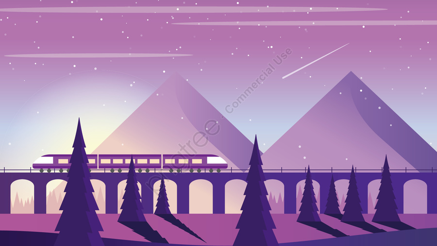 high-speed rail train travel season, Long, Holidays, High Speed Rail llustration image