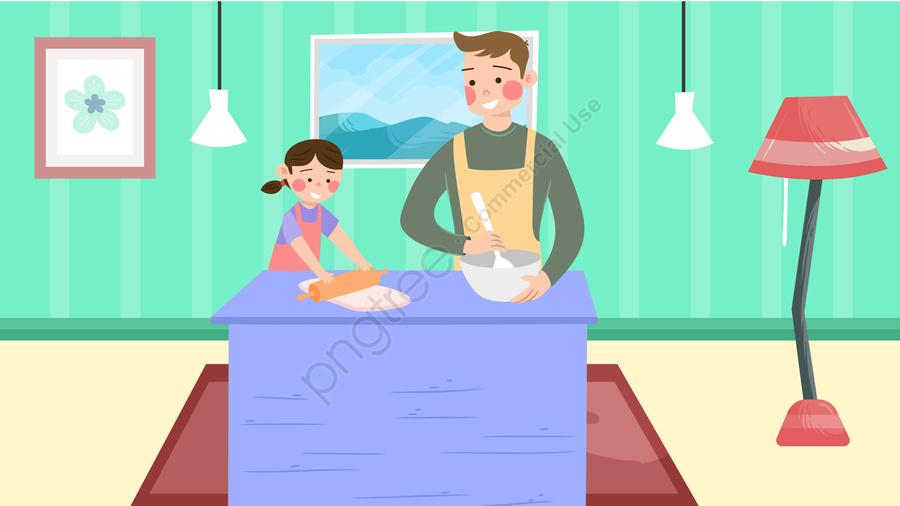 home furniture home life family life, Lifestyle, Illustration, Parent Child llustration image