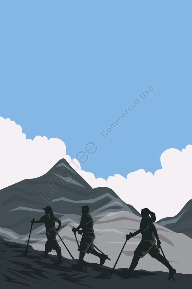 illustration character mountaineering the climb mountaineering, Climbing Figure, Climbing Characters, Outdoor Sports llustration image