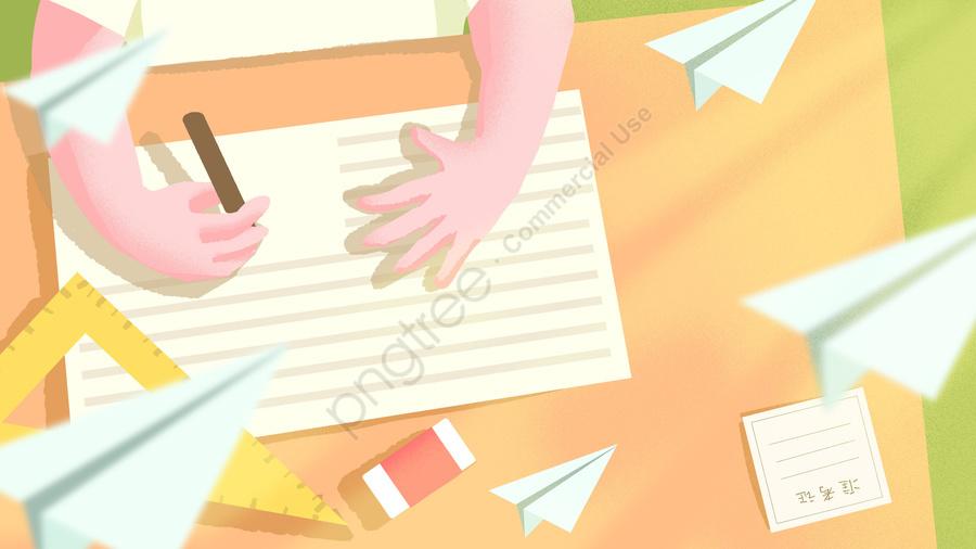 Minh Họa Vẽ Tay Thi đại Học, Kiểm Tra, Ứng Cử Viên, Học llustration image