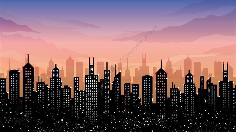 그림 프리 도시 건물 도시, 건물, 고층 건물, 이 시의 보다 llustration image