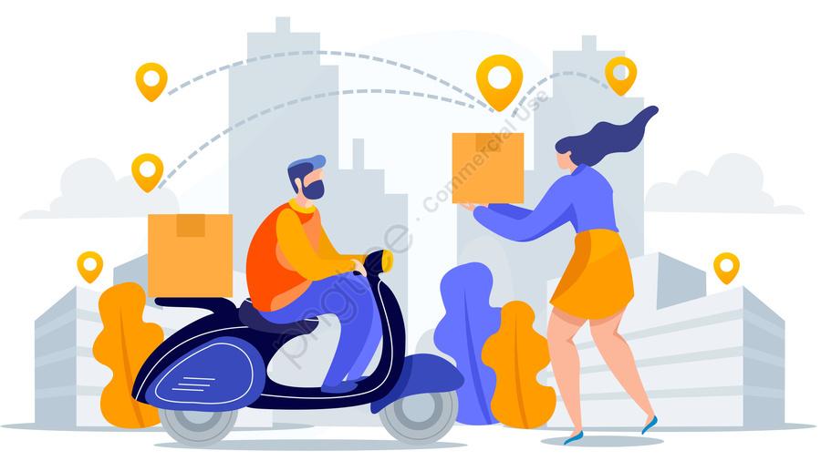 Logistics Transport Illustration, Logistics, Transport, Illustration llustration image