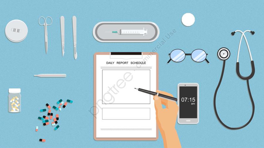 medical medicine scalpel needle, Glasses, Stethoscope, Doctors llustration image