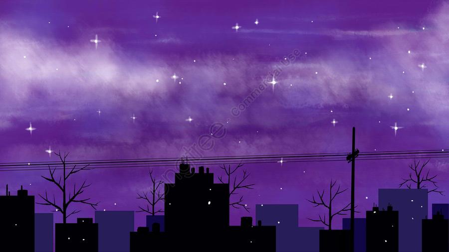 night sky star city sky, Lớp Học, Bảng đen, Học Hỏi llustration image