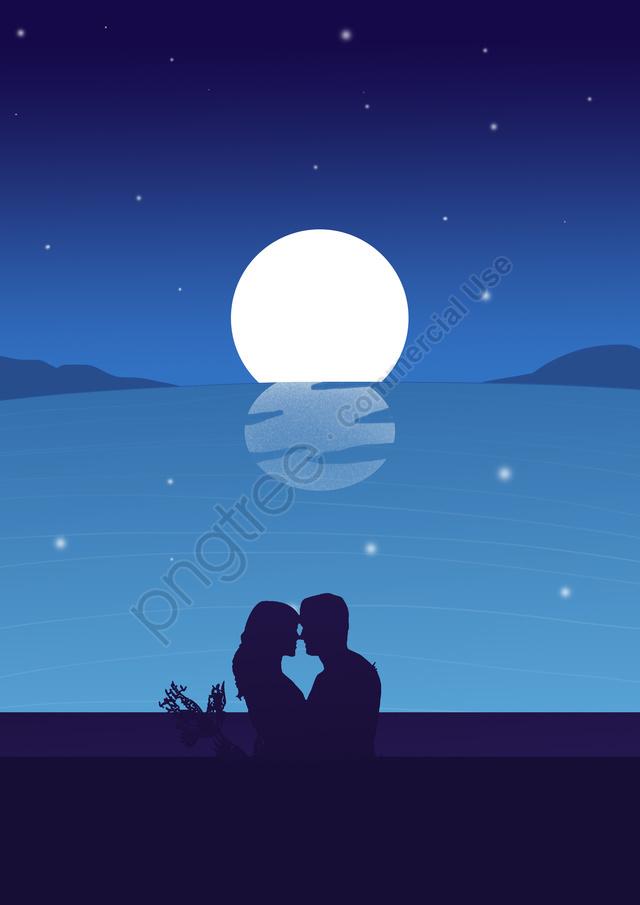 夜旅行観光アウトドア, 森, 新鮮, 美しい llustration image