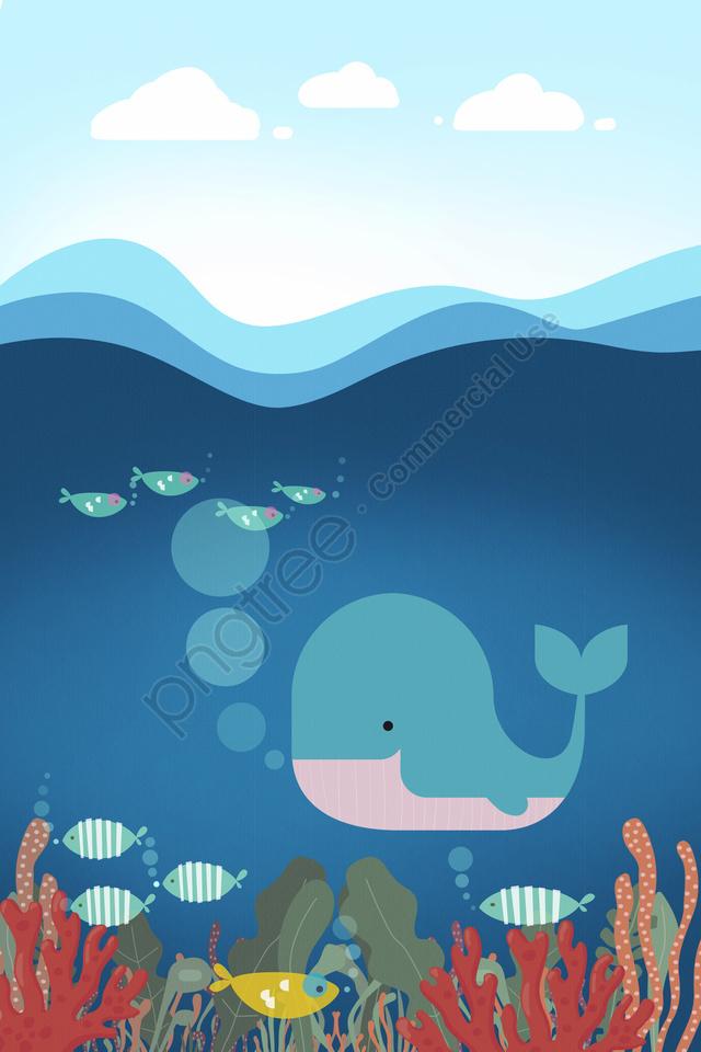 Ocean Fish Coral Seaweed, Ocean, Fish, Coral llustration image