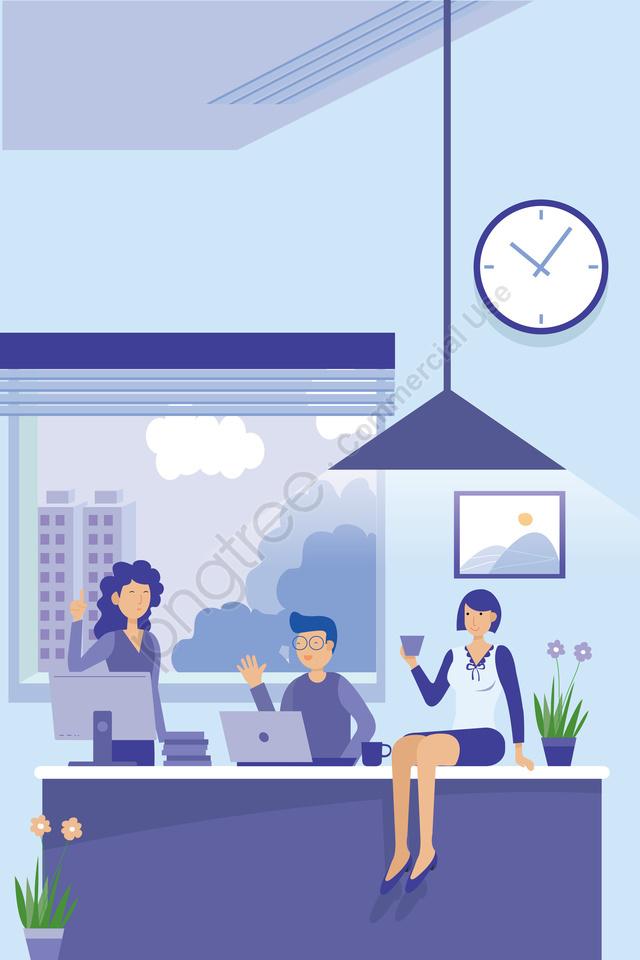 कार्यालय व्यापार पर्यवेक्षक सफेद कॉलर, बॉस, बैठक, चर्चा llustration image