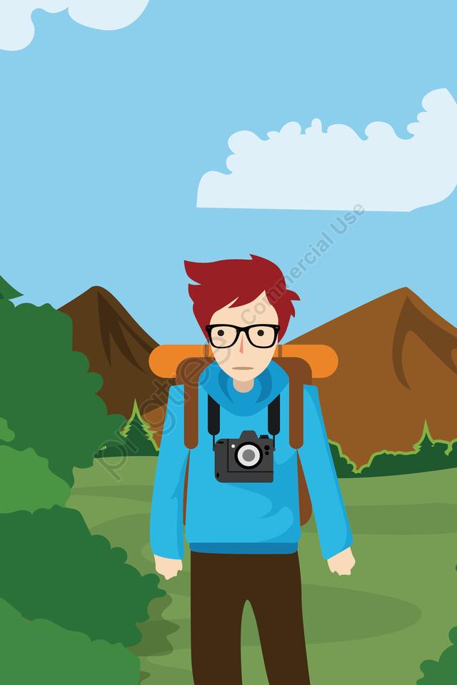 屋外観光長期休暇旅行, 旅行, 屋外の, 観光 llustration image