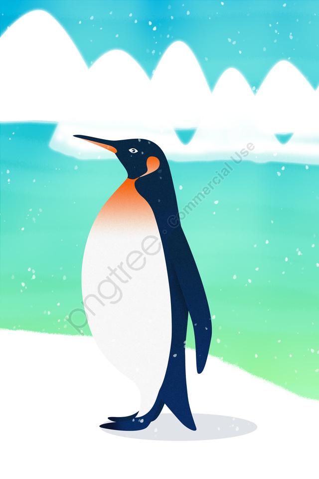 Pinguim Animais Selvagens Antártico Animal, Iceberg, Pengu Antártico, Pinguim llustration image