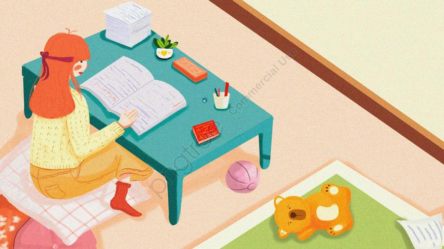 Revisão De Exame De Preparação De Pós Graduação Luta Simples, Fresco, Ilustração, Preparação De Pós Graduação llustration image
