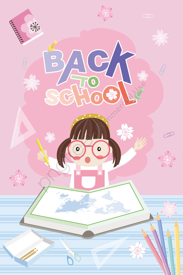 school season school day girl school, Kindergarten, Primary School Student, Learn llustration image