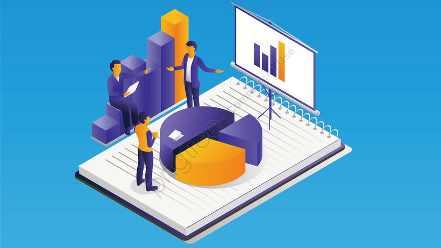 технологии будущего офиса делового человека, диаграмма, технологии, в будущем llustration image