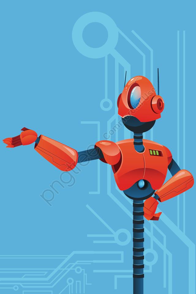 Technologie Robot Intelligent Machine Intelligente, La Technologie, Intelligence, Intelligent llustration image