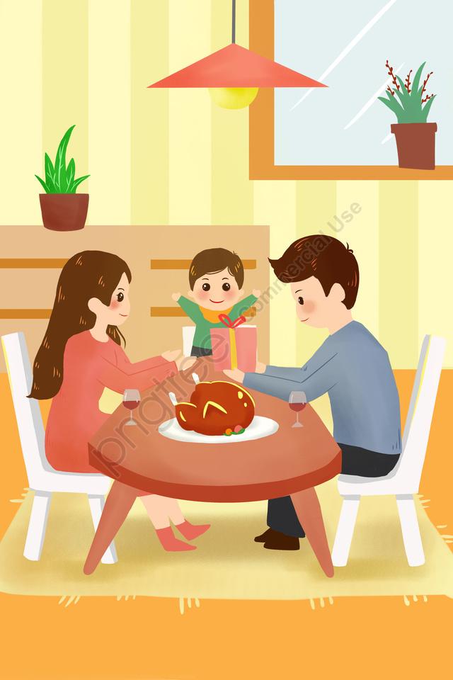 칠면조 따뜻한 먹는 추수 감사절 추수 감사절, 삽화, 추수 감사절, 먹어 llustration image