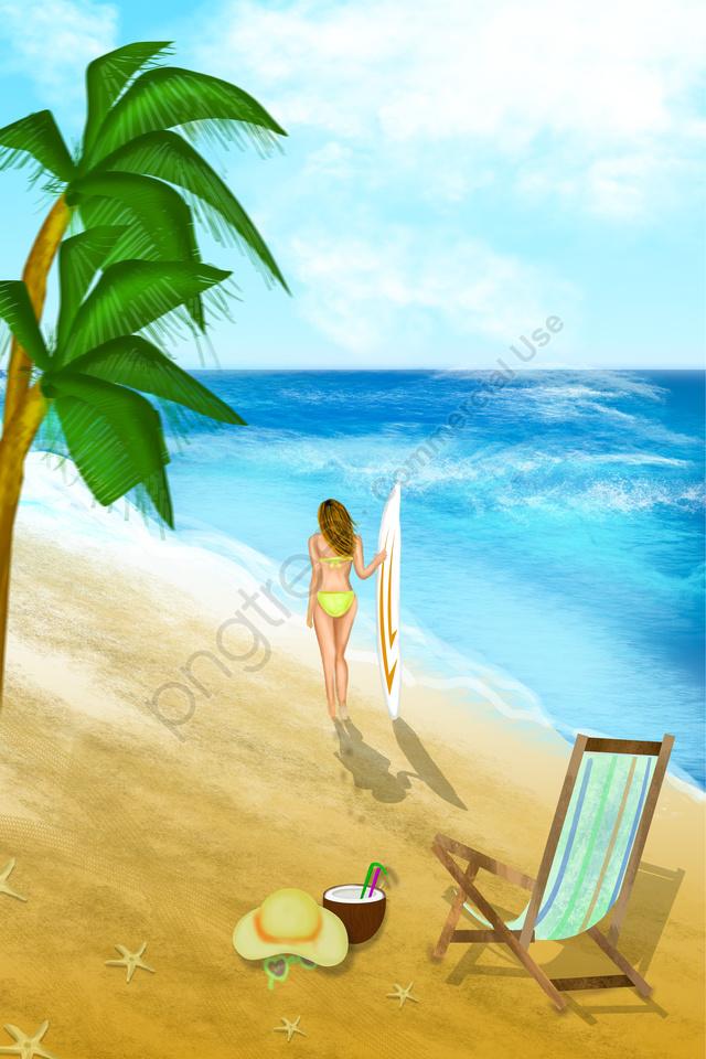 9200 gambar pemandangan pantai ilustrasi HD