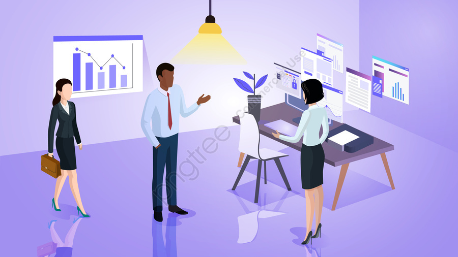 white collar business business workplace, Office, Data, Analysis llustration image